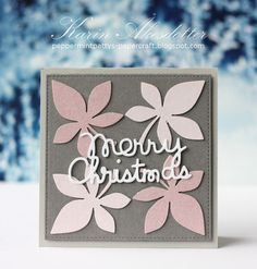 Peppermint Patty's Papercraft: Merry Christmas with Paper Smooches !