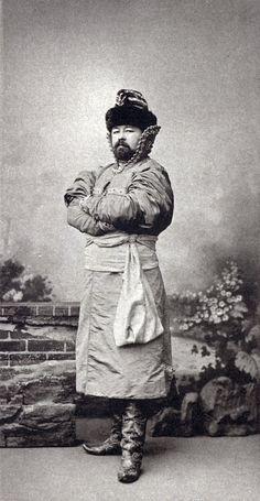 Prince Alexis Obolensky, Ecuyer de la Cour (Costume d'interieur d'un boyard de la fin du XVI siecle......135 by klimbims on deviantART