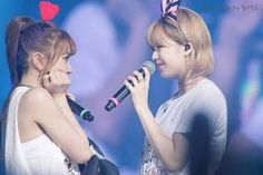 Chaeyoung and Jeongyeon Love Of My Live, Love Her, Twice Jungyeon, Chaeyoung Twice, Dance The Night Away, One In A Million, What Is Love, Fun To Be One, Number One