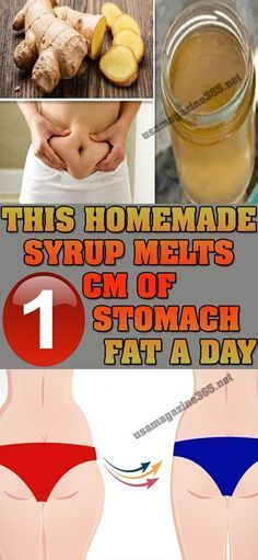 THIS HOMEMADE SYRUP MELTS 1 CM OF STOMACH FAT A DAY Do you have issues with excess fat? Do you feel that there is some extra liquid present in your abdominal area? Well, we have the perfect solutio…