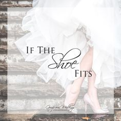 Up on the blog today, we're taking a different perspective on your feet. http://gorge-ousweddings.com/if-the-shoe-fits/ What are your dream bridal shoes? #conquertheworld #shoesspeaklouderthanwords #bridalshoes #gorgeousweddings #windmountainranch
