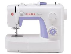 Singer Sewing Machine Simple Automatic Needle Threader Beginner Built In Stiches #Singer