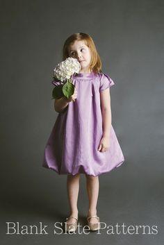 Tiny Bubbles Dress pdf sewing pattern by Blank Slate Patterns Little Girl Dresses, Girls Dresses, Flower Girl Dresses, Costura Diy, Sewing Kids Clothes, Girl Dress Patterns, Sewing Patterns For Kids, Making Ideas, Cute Dresses