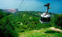 Cable car from Malcesine to top of Monte Baldo.