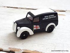 Vtg Die-casts car model by Lledo Days Gone Truck boxed Lledo Van vintage lledo Lifeboat promotional car vtg Lledo diecast D2/728