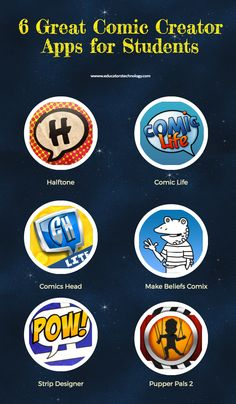 6 Great Comic Creator Apps for Students