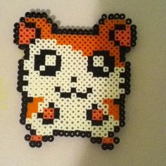 Hamtaro perler beads by thoughtful_ideas