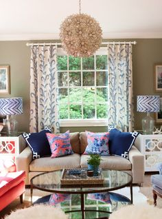 Southern Chinoiserie Living Room