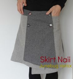 DIY/TUTORIAL SEWING: Skirt Naii- Junebug