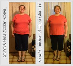 """Look at Jean!!  """"I finally reached my 90 Days (ok - it's really on 89 days but I just couldn't wait any longer) on my Skinny Fiber 90 Day Challenge!!  I am sooooo excited!!! I have lost 6 lbs and 10 inches!!!!! and I am able to get into some of my clothes that I haven't been able to wear for over a year!  I did NOT change anything in my routine other than I took my Skinny Fiber every day 30-60 minutes... more here: https://www.facebook.com/sarahsmynewbody www.LetsGoSkinny.com"""