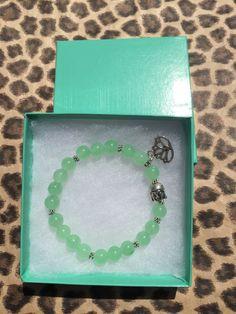 Jade BraceletMeditation Bracelet Spiritual Yoga by JewelrybyJAM