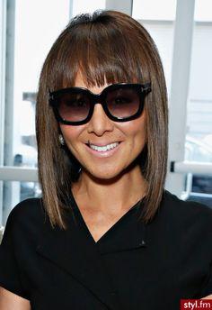 Fryzury Brązowe włosy: Fryzury Krótkie Na co dzień Proste z grzywką Rozpuszczone Brązowe - Roki Balboa - 2166547
