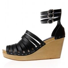 Bois Wedge Sandal. Cool, casual and chic. It's the 3Cs of fashion incarnated in the perfect sandal.