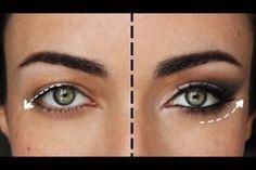 maquillage yeux tombant - Recherche Google