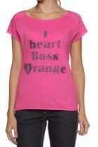 Hugo Boss Orange Logo Tee GINA, Color: Cerise