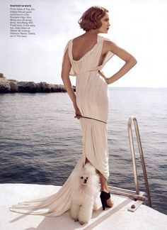 Natalia Vodyanova, Vogue by Mario Testino