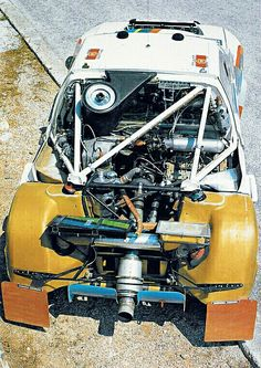 Peugeot 205 T16 Group B Rally 1985-1986