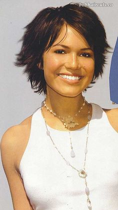 15  Short Hair for Round Faces #BobHaircuts