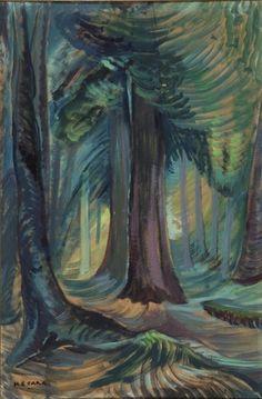 Emily Carr ~ Lone Cedar ~ 1936