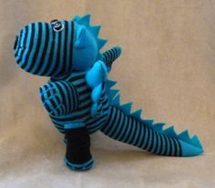 Stuffed Sock Dragon Tutorial {diy} {instructions}