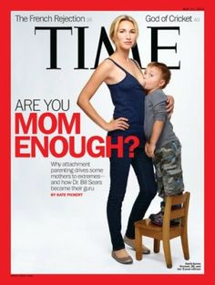 Current cover of Time magazine.
