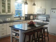Photo Gallery Of Remodeled Kitchen Features CliqStudios Dayton Painted White