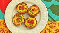 recipes magazine: Potato Cup Frittata