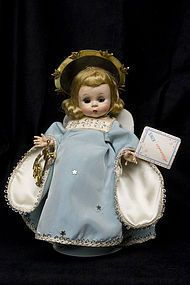 The very desirable 1953 Madame Alexander Guardian Angel from AVGUSTA'S BISQUE DOLLS ~ found @Doll Shops United http://www.dollshopsunited.com/stores/abidolls/items/1283263/very-desirable-1953-Madame-Alexander-Guardian-Angel #dollshopsunited