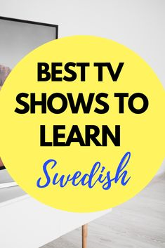Best TV Shows To Learn Swedish Are you learning Swedish? Check out these tv shows to learn Swedish. Improve your Swedish language learning. Learning To Relax, Ways Of Learning, Learning Italian, Languages Online, Foreign Languages, Learn Languages, Stockholm, Swedish Language, German Language
