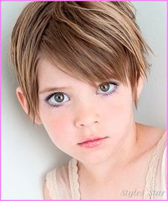 cool Haircuts for young girls with thick hair
