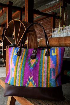 Manos Zapotecas fair trade purse.