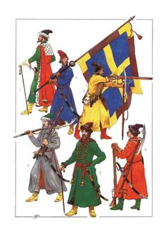 Развитие армии России в 15-18 веках - Форум Дружины стрельцы