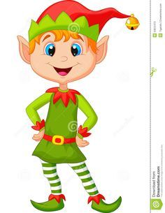 cute-happy-looking-christmas-elf-cartoon-illustration-34612473.jpg (1003×1300)