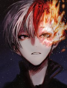 My Hero Academia (僕のヒーローアカデミア) - Shouto Todoroki (轟 焦凍) Boys Anime, Dc Anime, Hot Anime Guys, Manga Boy, Anime Love, Anime Art, Boku No Hero Academia Todoroki, Kid Buu, Boku No Hero Todoroki