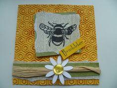 Bee - bumblebee and daisy