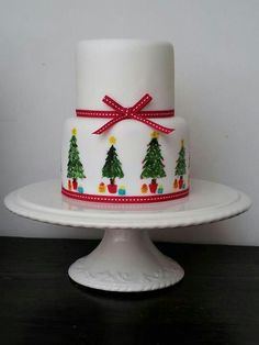 Christmas cake by mimosa bakery