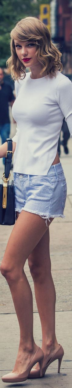 Modern shorts - cute photo