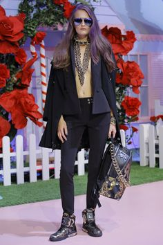 Philipp Plein Spring 2017 Ready-to-Wear Fashion Show - Alla Kostromichova