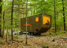 Getaway is a new Harvard startup that lets city slickers try out tiny home living in nature | Inhabitat New York City
