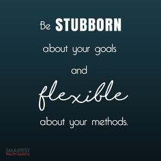 #MondayMotivation Make solid goals with #SmartestWealthSystems