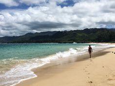 Laie beach. Oahu, Hawaii