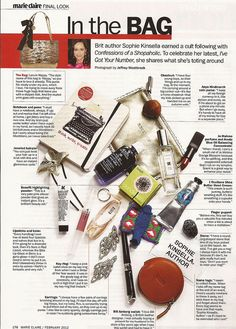 From the February 2012 Marie Claire issue