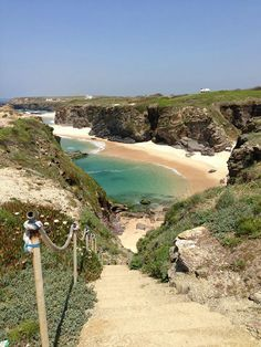 Porto Covo, Alentejo ~ I have no idea where this is (I'll google) but looks like I would have a private beach all to myself.....great