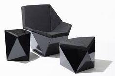 Afbeeldingsresultaat voor geometrische meubels