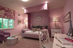Teenage girl's bedroom, Los Angeles. Barondes Morris Design.  Hello Anon. In my opinion, the choices for a teenage girl's room are unlimited. Check out the Kid's Room tag on the blog. Best, G