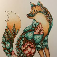 Take a peek at this great artwork on Johanna Basford's Colouring Gallery! Enchanted Forest Book, Enchanted Forest Coloring Book, Coloring Book Art, Animal Coloring Pages, Adult Coloring, Magical Jungle Johanna Basford, Johanna Basford Secret Garden, Secret Garden Colouring, Johanna Basford Coloring Book