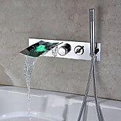 krom fargen endrer veggfeste badekar og håndd... – NOK kr. 1.316