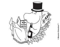 moomin sunday relax the way you want papa Moomin Tattoo, Les Moomins, Moomin Valley, Glass Engraving, Tove Jansson, Fancy Hats, Weird Creatures, Book Illustration, Cartoon Illustrations
