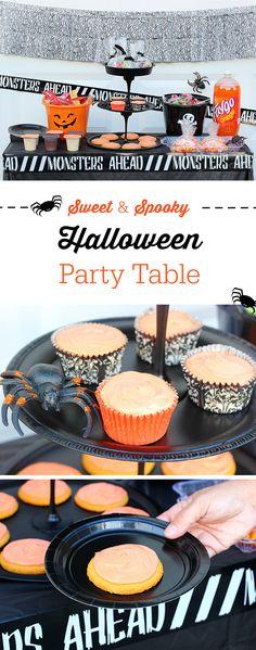Halloween Party Tabl