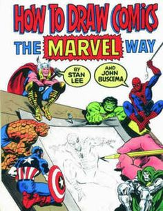 How to Draw Comics the Marvel Way (Paperback): 9780907610663